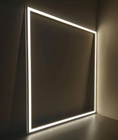 """Врезной арт светильник 600*600 SMD LED """"CAPELLA-48""""  48W  6400K панель белая"""