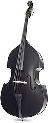 Контрабас STENTOR 1950LCBK Harlequin Rockabilly Double Bass 3/4 (Black)