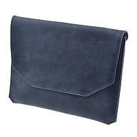 """Ручной конверт для планшета 7-8"""" Синий сапфир"""