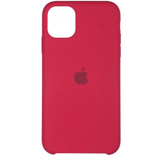 Apple iPhone 11 Pro Max Чохол-накладка Original Soft Case Rose Red