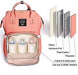 Рюкзак органайзер для мам сумка, термо сумка, фото 4