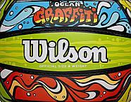 Wilson Graffiti Volleyball Мяч волейбольный игровой оригинал, фото 2