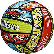Wilson Graffiti Volleyball Мяч волейбольный игровой оригинал, фото 3