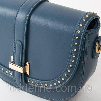 PODIUM Сумка Жіноча Класична позов-шкіра FASHION 01-01 8691 blue, фото 2