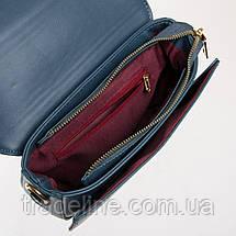 PODIUM Сумка Жіноча Класична позов-шкіра FASHION 01-01 8691 blue, фото 3