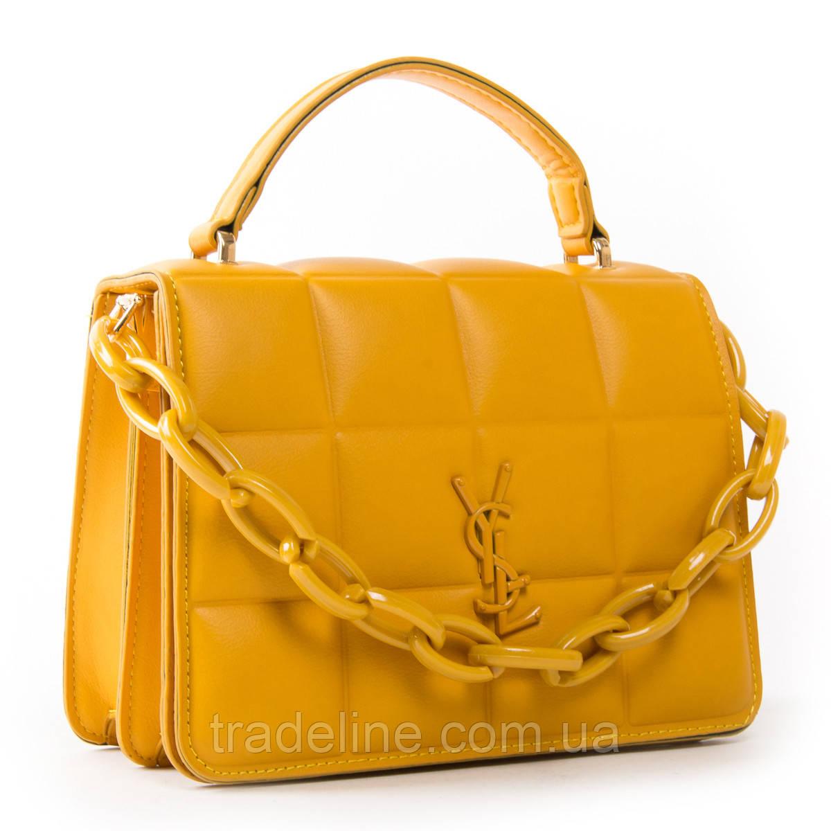Сумка Женская Классическая иск-кожа FASHION 01-01 8720 yellow