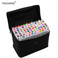 Маркеры TOUCH FIVE 60 шт, Animation, фломастеры TouchFive скетчинг, hs00024