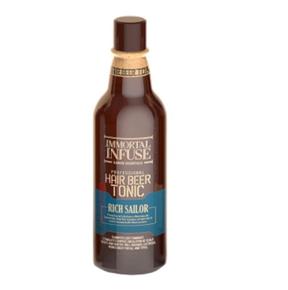 "Тоник для волос ""INFUSE HAIR BEER TONIC RICH SAILOR"" (300 ml) (163-108)"