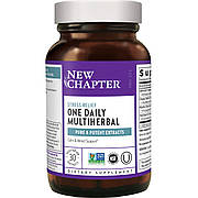 Травы для Нервной Системы, Multiherbal Stress, New Chapter, 30 капсул