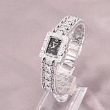 Жіночі наручні годинники з срібним браслетом код 422, фото 3