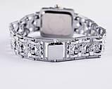 Жіночі наручні годинники з срібним браслетом код 422, фото 4