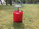 """Газовый баллон туристический 8 л """"Пикник"""". Газовый комплект 8 л, фото 3"""