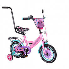 """Велосипед TILLY Monstro 12"""" T-21229/1 pink/blue (T-21229/1)"""