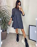 Стильне жіноче плаття з турецької вельвету, фото 4