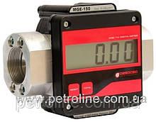 Электронный счетчик MGE 250 для дизельного топлива, масла, 10-250 л/мин, +/-0,5%, Испания.