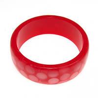 Пластиковый браслет на руку B001763 красный