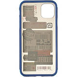 Чехол Mate Crazy Case для Apple iPhone 11 Pro Max Blue, фото 3