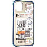 Чехол Mate Crazy Case для Apple iPhone 11 Pro Max Blue, фото 4