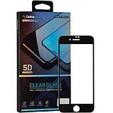 Защитное стекло Gelius Pro 5D Clear Glass для Apple iPhone 7/8 White, фото 2