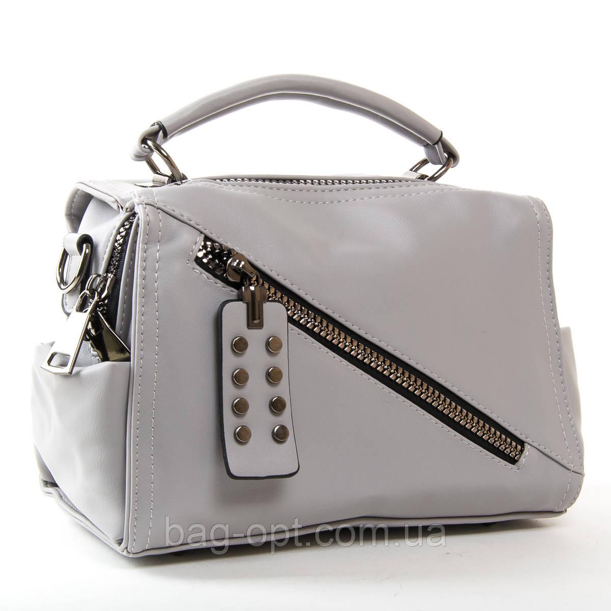 Клатч женский Fashion (25x18x13 см) grey