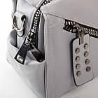 Клатч женский Fashion (25x18x13 см) grey, фото 2