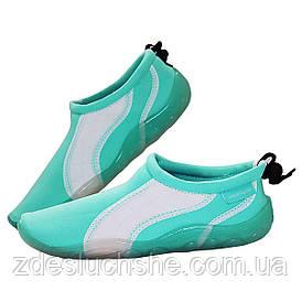 Обувь для пляжа и кораллов аквашузы SportVida Size 40 Mint SKL41-277868