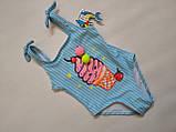 Купальник  слитный детский TERES  Пломбирчик  970 TERES розовый (В НАЛИЧИИ ТОЛЬКО  28  размеры), фото 4