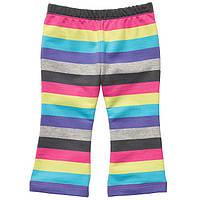 Детские трикотажные штаны для девочки Carter's  6, 9, 12 месяцев.