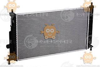 Радіатор охолодження MAZDA 3 (BL) 1.6 i, 2.0 i (від 2009р) МКПП (пр-во Luzar Росія) ЗЕ 58899