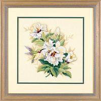 """Набір для вишивання гладдю """"Гібіскус//Hibiscus Floral"""" DIMENSIONS 01544"""