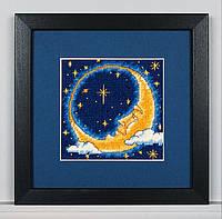 """Набір для вишивання гобеленом """"Місячний мрійник//Moon Dreamer"""" DIMENSIONS 07173"""