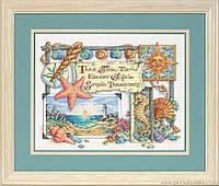"""Набор для вышивания крестом """"Простые сокровища//Simple Theasures"""" DIMENSIONS 13696"""