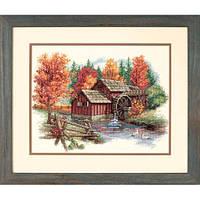 """Набір для вишивання хрестом """"Пишність осені//Glory of Autumn"""" DIMENSIONS 35199"""