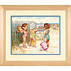 """Набір для вишивання хрестом """"Дівчата на пляжі//Beach Babies"""" DIMENSIONS 35216"""