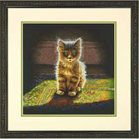 """Набір для вишивання хрестом """"Пухнастий кошеня//Warm and Fuzzy Kitten"""" DIMENSIONS 70-35286"""