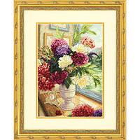 """Набор для вышивания крестом """"Летний букет//Summer Bouquet"""" DIMENSIONS 70-35328"""