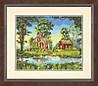 """Набір для вишивання хрестом """"Літній котедж//Summer Cottage"""" DIMENSIONS 70-35340"""