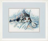 """Набір для вишивання хрестом """"Котячий затишок//Cat Comfort"""" DIMENSIONS 70-35341"""