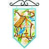 """Набір для вишивання хрестом """"Весна/Spring Mini Banner"""" DIMENSIONS 72-74133"""