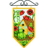 """Набір для вишивання хрестом """"Літо//Summer Mini Banner"""" DIMENSIONS 72-74134"""