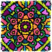 "Набор для ковровой техники ""Красочная мандала//Colorful Mandala"" DIMENSIONS 72-75000"