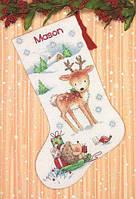 "Набір для вишивання хрестом ""and Reindeer Hedgehog//Северній олень та їжачок"" DIMENSIONS 70-08978"