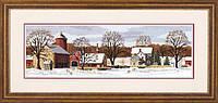"Набор для вышивания крестом ""Живописная ферма//Scenic Farm"" DIMENSIONS 03841"