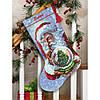 """Набір для вишивання хрестом """"santa's Snow Globe//Снігова куля Санти"""" DIMENSIONS 70-08985"""