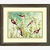 """Набір для вишивання хрестом """"Птахи на папороті//Birds on Ferns"""" DIMENSIONS 70-03248"""