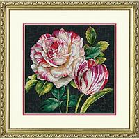 """Набір для вишивання хрестом """"Tulip Drama//Тюльпани"""" DIMENSIONS 70-35314"""