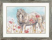 """Набір для вишивання хрестом """"Wild Horse//Дикий кінь"""" DIMENSIONS 70-35396"""