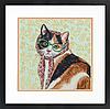 """Набір для вишивання хрестом """"Mama Cat//Мама кішка"""" DIMENSIONS 70-35395"""