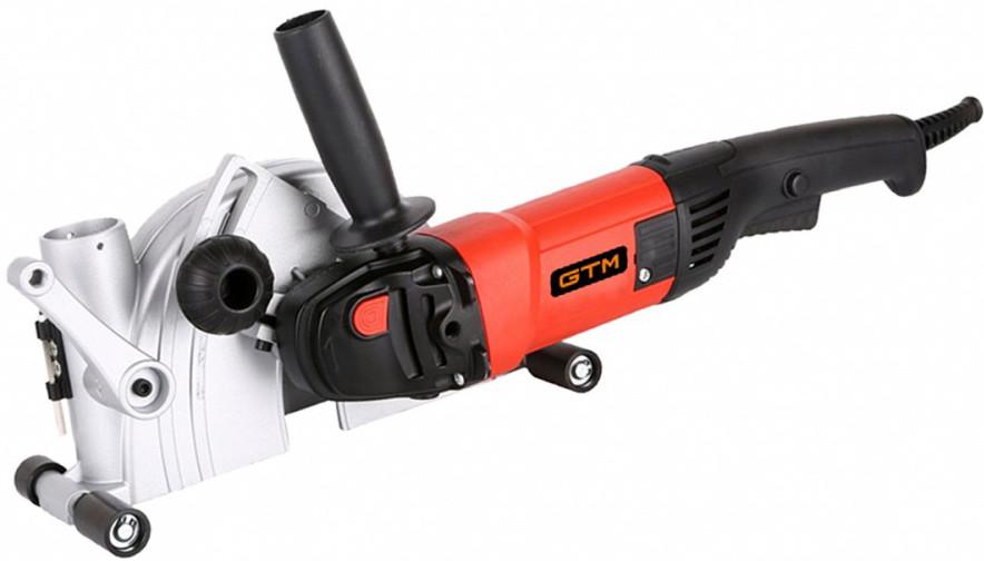 Штроборез (борозник) GTM WC 125/1400E (Безкоштовна доставка)