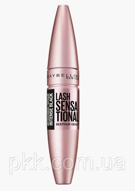 Тушь для ресниц Maybelline New York Lash Sensational Intense Black веерный объём